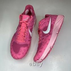 12-13 Nike Alpha Huarache Elite 2 Mothers Day Baseball Turf Shoes CI2222-603