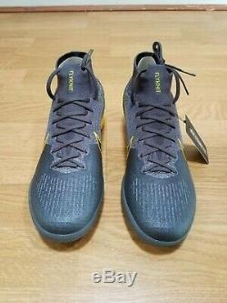 $175 Nike Superfly 6 Elite TF Turf Soccer Shoes AH7374-070 Mercurial Grey Volt