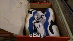 2006 Nike Zoom Turf Training Mens Sz 13 315099 141 White Royal Barry Sanders