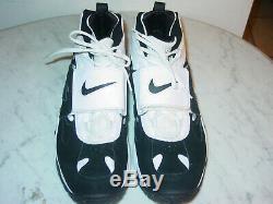 2011 Nike Air Diamond Turf 2 White/Black Training Shoes Size 13