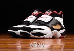 2017 Men Nike Air Diamond Turf Retro OG Deion Sanders Falcon Size 10 309434-105