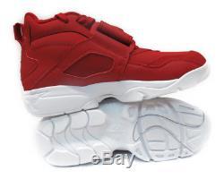 82724f0592 309434-600 NIKE AIR DIAMOND TURF RED WHITE MENS SNEAKERS Sz 12