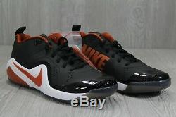 39 RARE Nike Zoom Trout 4 Turf PE Sample Texas Longhorns Mens 10 AO1011-081