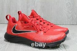 54 Nike Vapor Speed Ohio State Buckeyes Turf Red Black Shoes Sz 9.5 924776-601