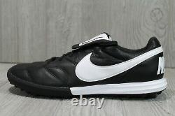 55 Nike Premier II TF Black White 9 -11 Mens AO9377-010 Turf Soccer Shoes