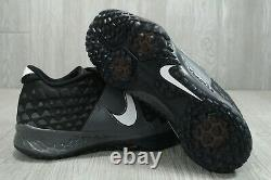 59 Nike Zoom Force Mike Trout 6 Training Turf Black Shoes Mens 10.5 AT3463-004