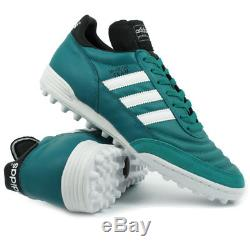 ADIDAS MUNDIAL TEAM EQT GREEN LIMITED EDITION SOCCER FOOTBALL TURF SHOES Size 43