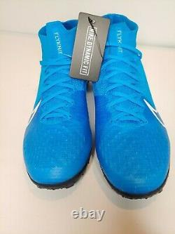 AT7981-414 Nike Mercurial Superfly 7 Elite TF Men's Turf Soccer Shoes