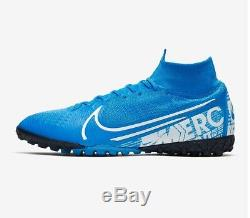 AT7981-414 Nike Mercurial Superfly 7 Elite TF Men's Turf Soccer Shoes Size 10