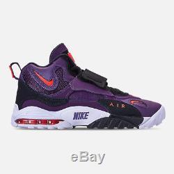 AUTHENTIC NIKE Air Max Speed Turf Night Purple Black White Crimson Red men size