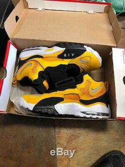 AUTHENTIC NIKE Air Max Speed Turf Steelers men size 12