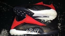 Ad11 2018 Men X TANGO 18+ TURF Football Soccer Cleats Shoes Boots BB9388 Black