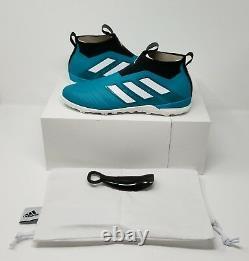 Adidas ACE Tango 17+ Purecontrol EQT Turf Soccer Shoe(US 11.5) Green/White/Black