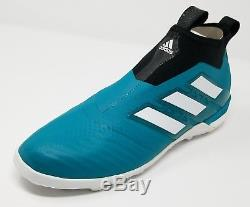Adidas ACE Tango 17+ Purecontrol EQT Turf Soccer Shoe (US 9.5) Green/White/Black