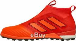 Adidas Ace Tango 17+ Purecontrol Turf Shoes Orange Red BY2228 NEW-FREE SHIPPING