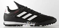 Adidas Copa 17.3 TF Men's Turf Soccer Cleats Football Shoes Black/White 1612