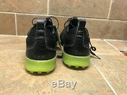 Adidas Copa 19.1 TF Artificial Turf Soccer Shoes Mens Size 10 Black/Solar Yellow