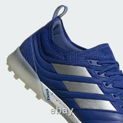 Adidas Copa 20.1 Tf Mens Turf Soccer Shoes Royal Blue/Silver Metallic EH0893 NEW
