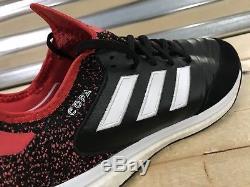 Adidas Copa Tango 18.1 TF Turf Soccer Shoes Black Red White SZ (CM7668)