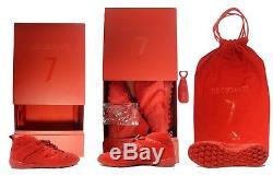 Adidas David Beckham DB Accelerator TF Men's Red Turf Soccer Shoes AP9869