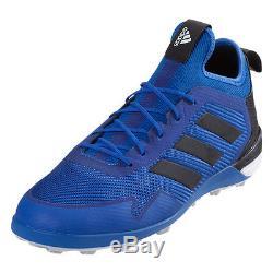 big sale 60f14 39fe0 Adidas Men's ACE Tango 17.1 Turf Soccer Shoes Blue/Black BA8535