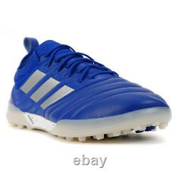 Adidas Men's Copa 20.1 Royal Blue/Silver Metallic/core Black Turf Soccer Shoe