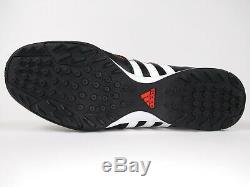 Adidas Mens Rare 11nova TRX TF Q23909 Black Red Turf Soccer Shoes Size 9