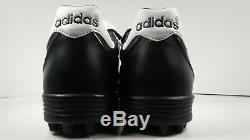 Adidas Mens Rare Kaiser 5 Team Turf 677357 Black White Soccer Shoes Size 12