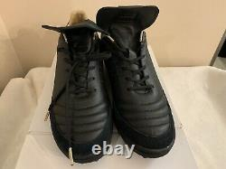 Adidas Mundial Team Turf Modern Craft Limited Collection Soccer Shoes Black 10.5