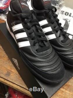 Adidas Mundial Team Turf Soccer Shoes New in Box Black White Size 10