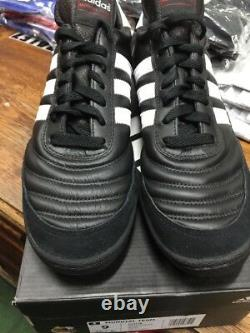Adidas Mundial Team Turf Soccer Shoes New in Box Black White Size 10.5 Only