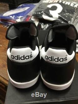 Adidas Mundial Team Turf Soccer Shoes New in Box Black White Size 9