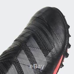 Adidas Nemeziz Tango 17+ BLACK/ RED TF Men's 11 Indoor Soccer Turf Cleats CP9092