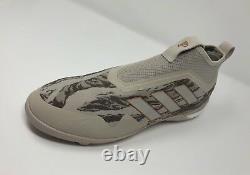 Adidas Paul Pogba ACE 17+ TR Limited Edition Turf Shoe (US Sz 10) Brown/White