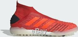 Adidas Predator 19+ TF Soccer Red Black Boost Turf F35800 Sz 8 8.5 9 10 11 $230