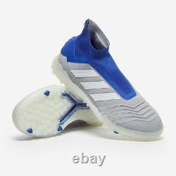 Adidas Predator 19+ Tf Soccer Shoes Bc0554 (blue Gray Ag Turf) Size Mens 9.5
