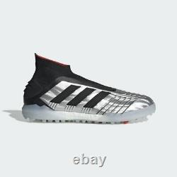 Adidas Predator 19+ Tf Soccer Shoes F35624 (silver Black Futbol Ag Turf) Sz 10.5