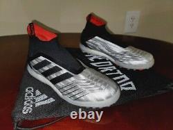 Adidas Predator 19+ Tf, Turf Shoes, Size 8.5 US In String Bag