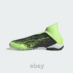 Adidas Predator Mutator 20+ Tf Mens Turf Soccer Shoes Core Black/Green EH2870