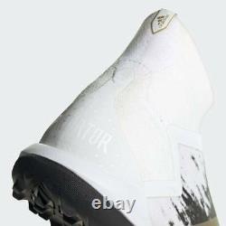Adidas Predator Mutator 20+ Tf Mens Turf Soccer Shoes FW9179 Cloud White/Gold