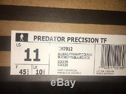 Adidas Predator Precision Turf Soccer Shoes Limited Edition Size 11