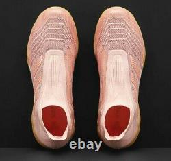 Adidas Predator Tango 18+ IN Indoor Soccer Shoes Turf Primeknit Pink Size 11