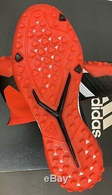 Adidas Predator Tango 18+ TF Men's Size 8.5 Turf Soccer Shoes DB2058 Red Black