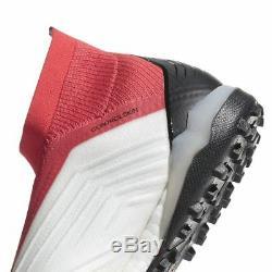 Adidas Predator Tango 18+ TF Turf Soccer Cleats White Coral Men's Boost CM7674