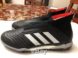 Adidas Predator Tango 18+ Turf CM7673 INdoor Soccer Shoes Size 8