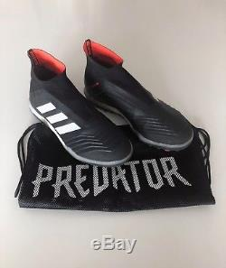 Adidas Predator Tango 18+ turf soccer cleats size 9 (Core Black/Solar Red)