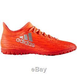 Adidas X 16.3 TRX TF Turf 2016 Soccer Shoes Brand New Red / Liquid Silver