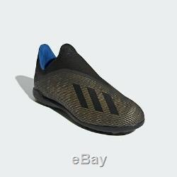 Adidas X 19.3 Laceless TF (EF0633) Soccer Cleats Football Shoes Turf Boots