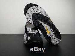 Air Max Speed Turf Black Grey Yellow Size 12 AV7895-001 Mens