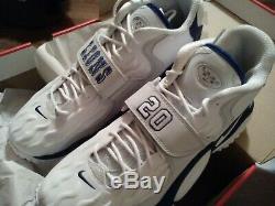 BARRY SANDERS Limited Edition NIKE Air turf jet 97 Detroit Lions Men12 Shoe 2053